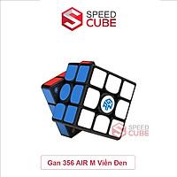 Rubik 3x3 Gan 356 Air M Stickerless/Viền Đen