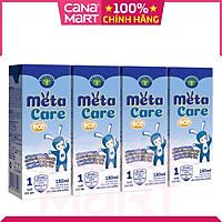 [Thùng 48H x 180ml] Sữa pha sẵn Nutricare Metacare ECO giúp phát triển toàn diện cho trẻ từ 1 tuổi