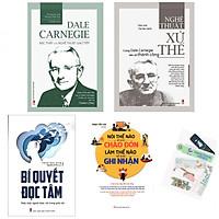 Combo Nói Thế Nào Để Được Chào Đón, Làm Thế Nào Để Được Ghi Nhận (Tái Bản) + Bí Quyết Đọc Tâm + Nghệ Thuật Xử Thế - Cùng Dale Carnegie Tiến Tới Thành Công + Dale Carnegie - Bậc Thầy Của Nghệ Thuật Giao Tiếp (Tái Bản) - (Tặng Kèm Bookmark Yêu Thương)