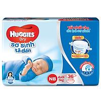 Tã Dán Sơ Sinh Huggies Dry Newborn NB36 (36 Miếng)...