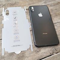 Dán dẻo ppf nhám chống vân tay - vỡ kính - mẻ viền iphone 7 plus /8 plus /X /XsMax /11/11 pro/11 pro max - hàng nhập khẩu