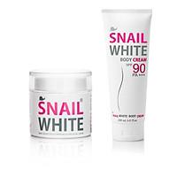 Combo kem dưỡng body cream và kem dưỡng da mặt snail white