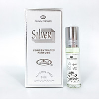 Tinh dầu nước hoa Silver Al-Rehab (Unisex)(Hàng chính hãng)