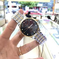 Đồng hồ nam SUNRISE 1109SBDM Full hộp, thẻ chính hãng, Kính Saphire chống xước chống