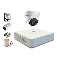 Trọn Bộ Camera 5.0MP Hikvision Hồng Ngoại 20 Mét [3 Mắt Camera] - Hàng chính hãng