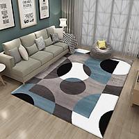 Home Carpets Crystal Velvet Printed Carpet Bedroom Living Room