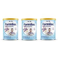 Bộ 3 Lon Sữa bột Formilac PEDIA (trên 1 tuổi) - 400g