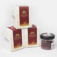 Combo 3 hộp Kingdom saffron nhụy hoa nghệ tây Iran loại super negin thượng hạng (hộp 1 gram)