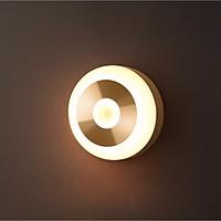 Đèn ngủ cảm ứng thông minh tự động bật tắt | Sáng màu nắng ấm |  Để bàn, treo xoay 360 độ và gắn tường tiện dụng