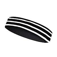Headband bts băng đô thể thao đen kẻ sọc trắng