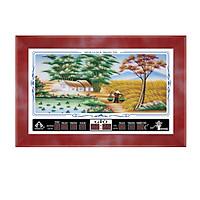 Đồng hồ lịch vạn niên trọng tín Mùa Lúa Chín Trọng Tín 8012-1