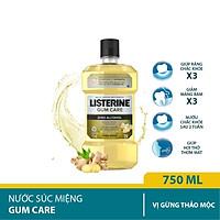Nước súc miệng giúp nướu chắc khỏe Listerine Gum Care 750ml/chai