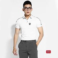 Áo thun nam cao cấp murad_fashion, áo phông nam màu trắng thêu logo đẹp phong cách thời trang nam 2021 atn71