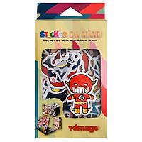 Sticker Đa Năng Siêu Anh Hùng 001 (40 Hình)