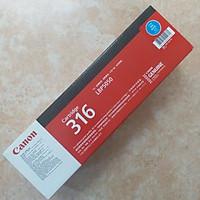 Mực in Canon 316C Cyan Toner Cartridge dùng cho máy LBP5050 / LBP5050N - Hàng Chính Hãng