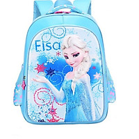 Balo Elsa 3D Cho Bé Cấp 1 (40x32cm)