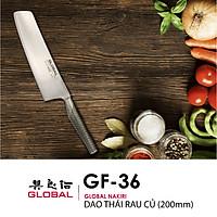 Dao bếp Nhật cao cấp Global GF36 Nakiri - Dao thái rau củ (200mm) - Dao bếp Nhật chính hãng