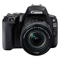 Máy Ảnh Canon EOS 200D Kit 18-55mm (Đen) - Hàng Chính Hãng