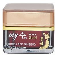 Kem Hồng Sâm Dưỡng Trắng Da Red Ginseng White Cream My Gold (50ml)