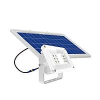 Đèn LED chiếu pha năng lượng mặt trời Công suất 40W chính hãng Rạng Đông, có cảm biến ánh sáng + remote, chống nước thích hợp dùng ngoài trời