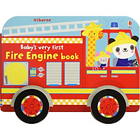 Sách Usborne Baby's very first: Fire Engine book