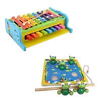 Combo đàn Piano và câu ếch
