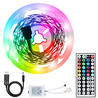 Bộ dây đèn LED dải sáng với điều khiển từ xa