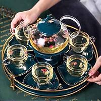 Bộ bình trà sứ xanh ngọc - AN1431