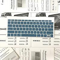 Miếng Lót, Phủ phím Silicon nhiều màu dành cho Macbook Bản Quốc Tế - Bảo vệ Chống nước, Bụi bẩn