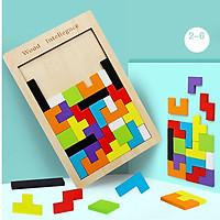 Bảng xếp các khối hình Tetris Đồ chơi giáo dục