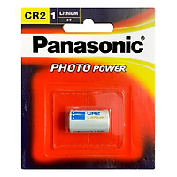 Pin CR2 Panasonic Lithium Photo Power 3V chính hãng vỉ 1 viên