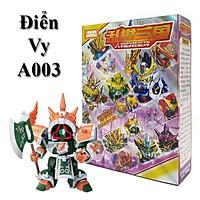 Bộ Lắp ghép Gundam Điển Vi - Đồ chơi Xếp Hình Tam Quốc A003