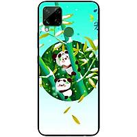 Ốp lưng dành cho Realme C15 mẫu Hai Bé Gấu