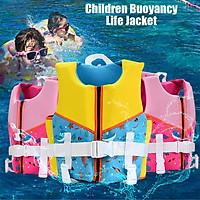 MANNER Children Buoyancy Life Jacket Kids Boys Girls Buoyancy Safety Vest Zipper Life Jacket For Water Sport