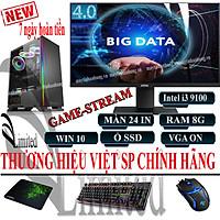 Bộ máy tính để bàn VLimited đời cao i3 9100f/8G/ SSD/HDD/VGA sản phẩm trọn bộ - Hàng chính hãng