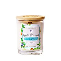 Nến thơm tinh dầu Mystic Charming Chouette Candle MinMax 182g -vanilla, hoa nhài, bạc hà, mận, hổ phách thanh mát sang trọng khử mùi làm quà tặng