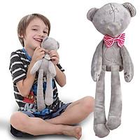 Thú bông cầm tay hình gấu cho bé
