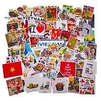 Set 100 Sticker - Việt Nam