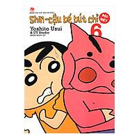 Shin - Cậu Bé Bút Chì - Tập 6 (Bản Đặc Biệt) (Tái Bản 2019)