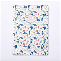Sổ vở Flower World họa tiết hoa lá Animal sắc màu B5 64 trang 17,5x25cm