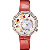 Đồng hồ nữ đính hoa khảm đá chính hãng Thụy Sĩ TOPHILL TE056L.PR32A7