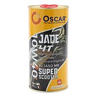 Nhớt xe ga tổng hợp toàn phần Oscar 10W40 SL Jade 4T Super Scooter Fully Synthetic 0.8L