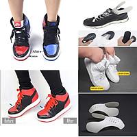 2 Miếng Chống Gãy Mũi Giày Nứt Da, Gãy Xẹp Sneaker Shield Độn Mũi Giày Giữ Phom Dáng Giày Căng Phồng Nhựa Mềm Silicon Siêu Bền Cho Giày Sneaker, Thể Thao, boot, giày lười