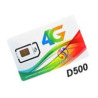 SIM 4G D500 VIETTEL TRỌN GÓI 1 NĂM TRUY CẬP THẢ GA