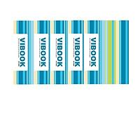 Lốc 05 Quyển Tập Sinh Viên 200 Trang  Kẻ Ngang Vibook TKN200-4 (Mẫu Ngầu Nhiên)