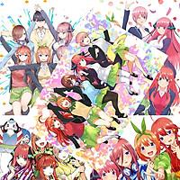 Poster Anime Gotoubun no Hanayome