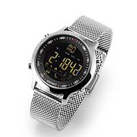 Đồng hồ smart watch chống nước pin 12 tháng dây kim loại  EX18