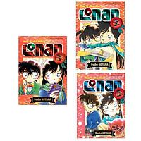 Combo 3 cuốn truyện  Thám Tử Lừng Danh Conan - Tuyển Tập Đặc Biệt: Những Câu Chuyện Lãng Mạn - Tập 1 + Tập 2 + Tập 3 ( Tặng kèm Poscard Happy Life)