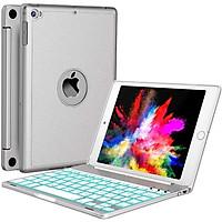 Bàn phím Bluetooth cao cấp dành cho iPad Mini 123 - 7 màu đèn cho bàn phím