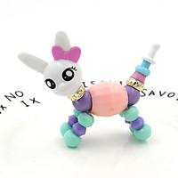 Vòng Tay quà tặng biến hình Thú dễ thương Twisty Petz - Thỏ (Màu Ngẫu Nhiên)